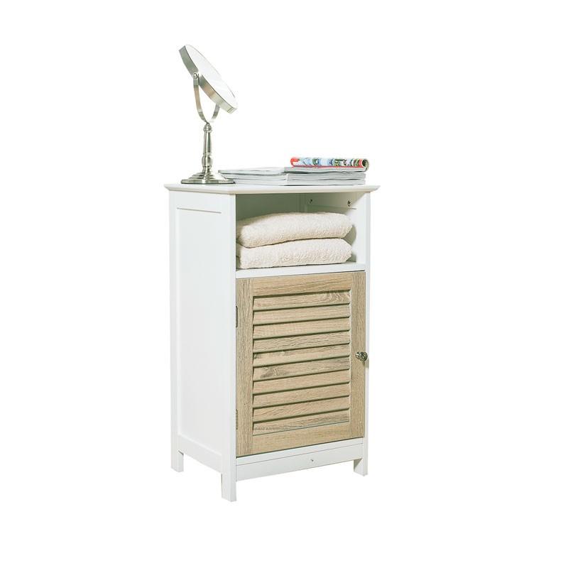 Armoire Basse A 1 Porte Caja Blanc Mobilier De Salon Idees Pour La Maison Armoire