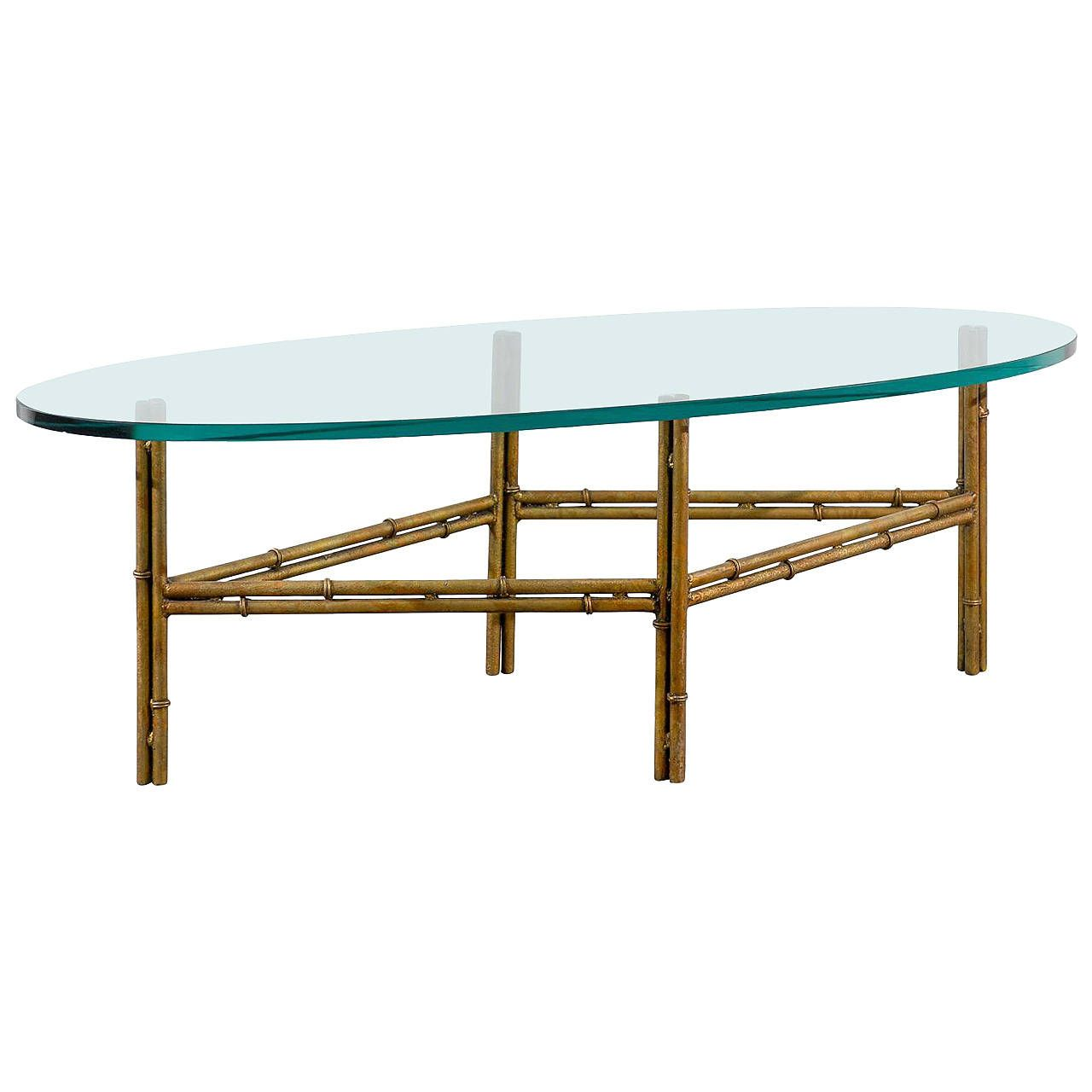 hall and mid oval pagoda nina tables glass century cocktail dering furniture table coffee campbell modern metal