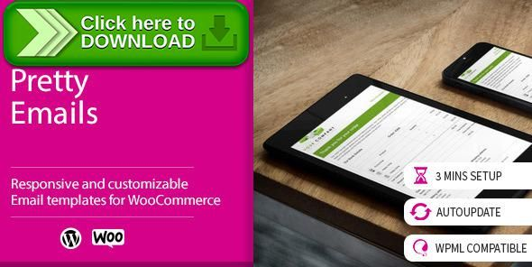Free Nulled Woocommerce Pretty Emails Download Email Email