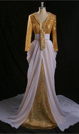 White Arabic Dress