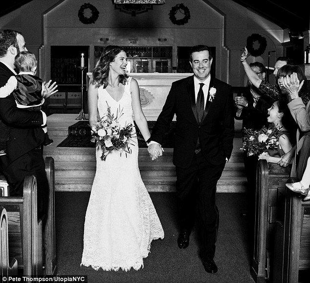 Carson Daly 42 Marries Girlfriend Of 10 Years Siri Pinter