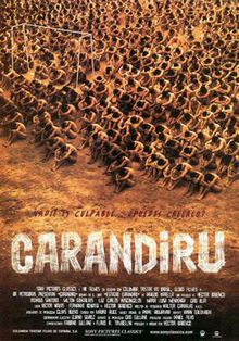 Brazilian Movie about the real-life events surrounding the riot in the Carandiru prison. Scared the BeJesus outta me!