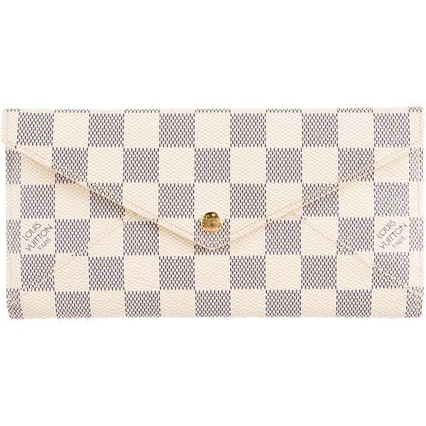 4e195598c75f Pre-owned Louis Vuitton Damier Origami Long Wallet (5