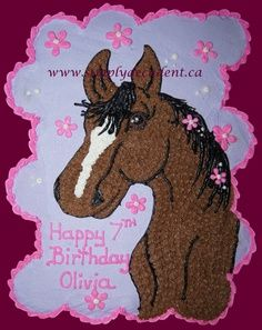 horse cupcake cake - Google Search