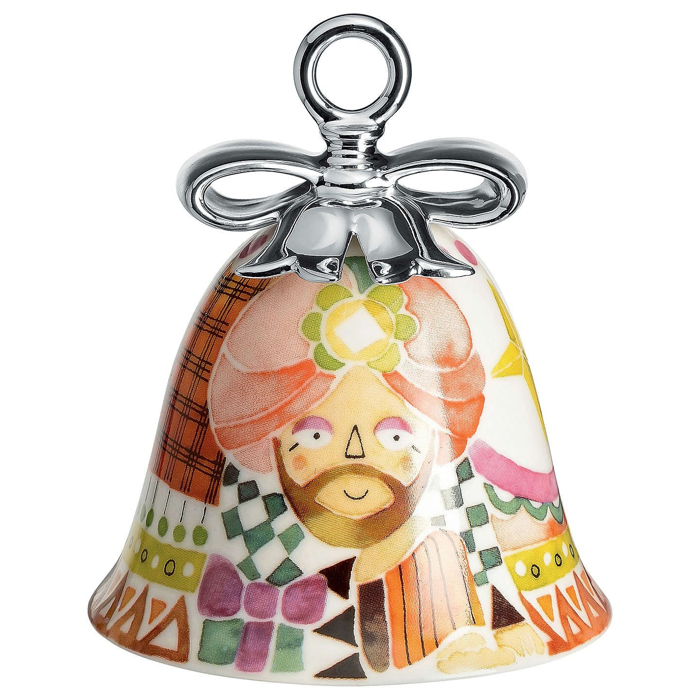 Christmas Bell Decorations Buyalessi 'holy Family' Caspar Christmas Bell Decoration Online At