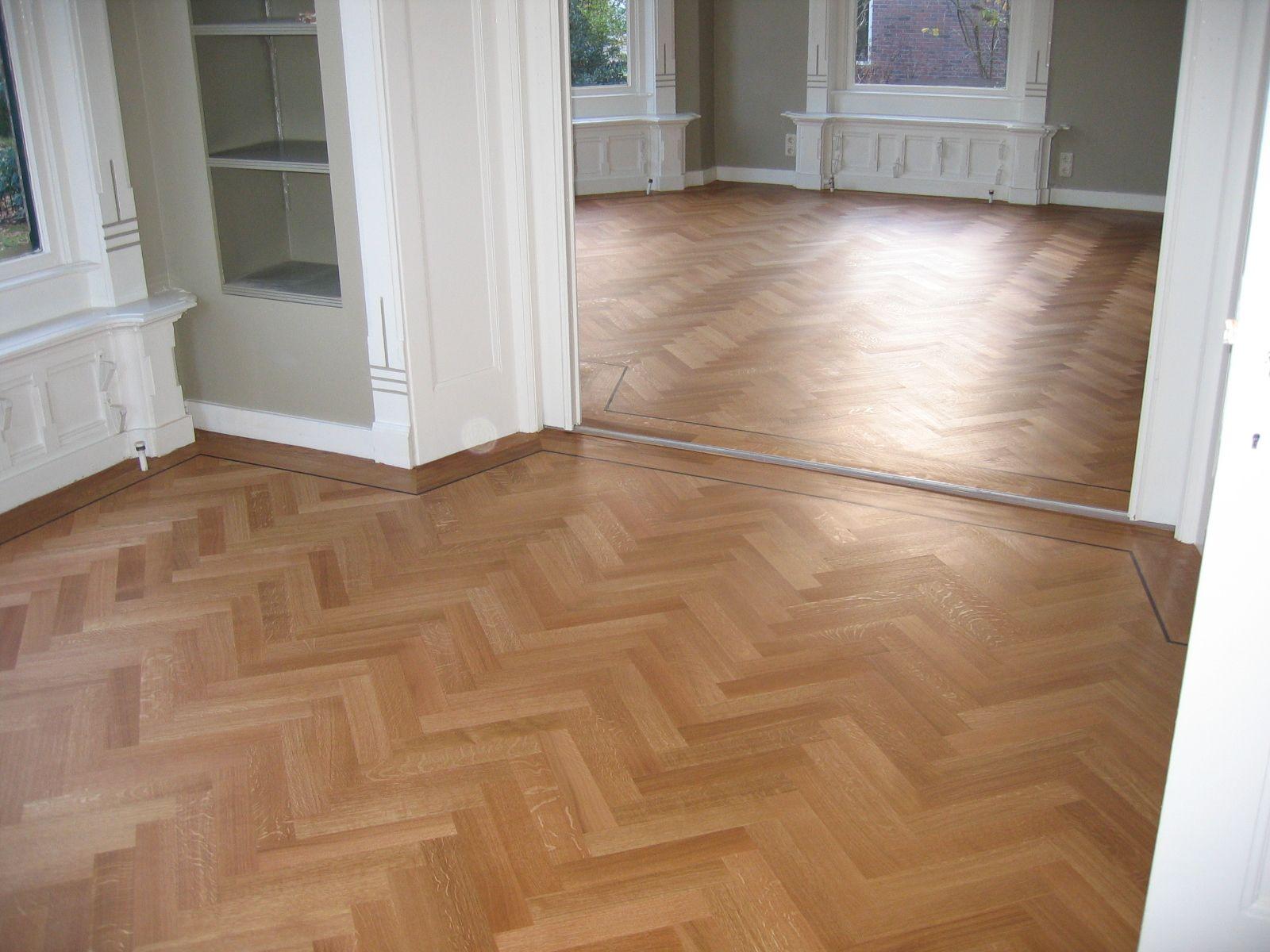 Eiken visgraat parket interior chick flooring