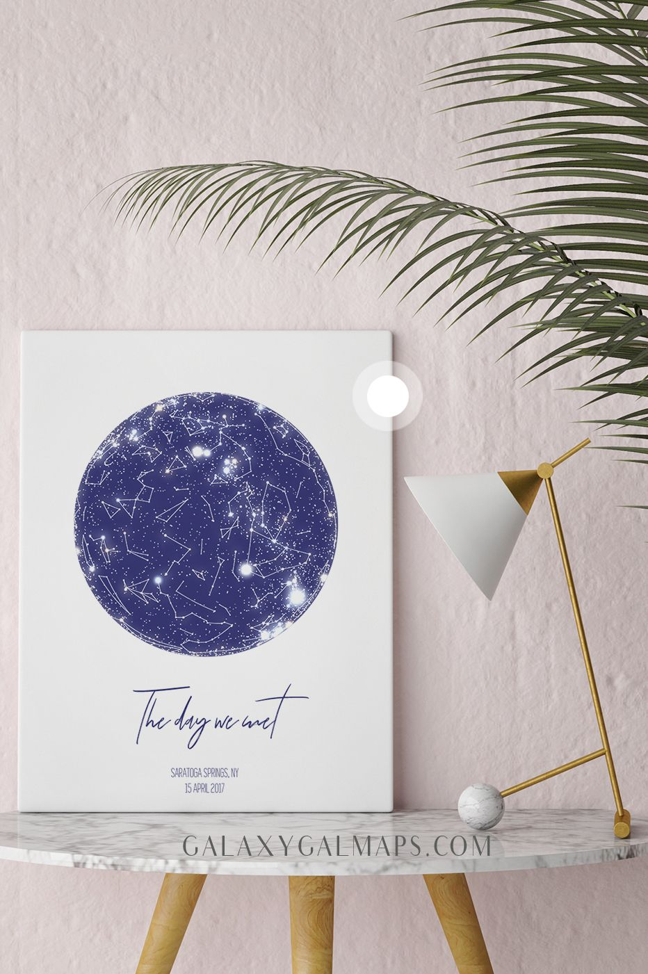 Star Map By Date And Location.Personal Star Map By Date And Location First Date Gift Our First