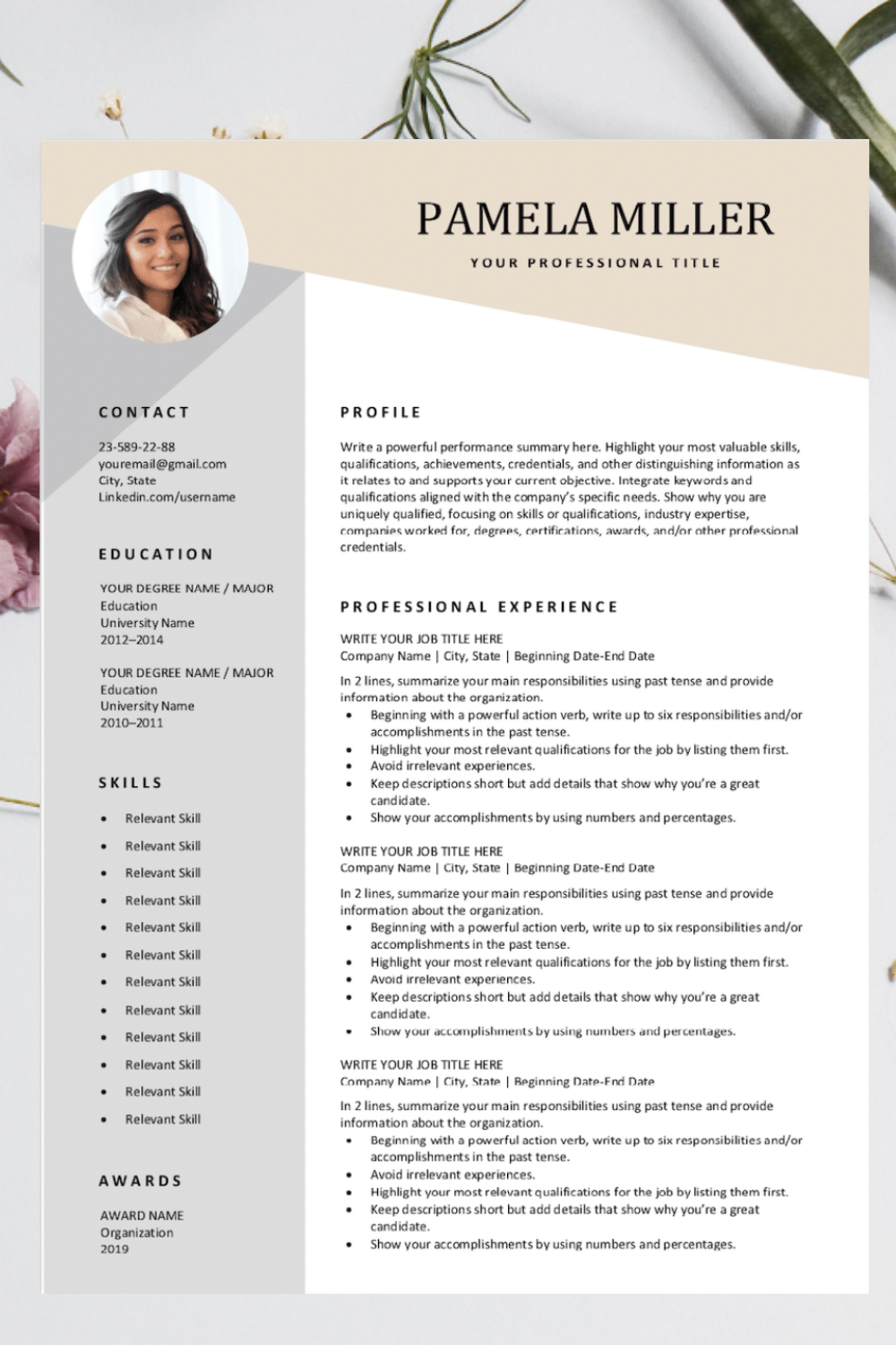 Download our completely free resume templates. Easy to