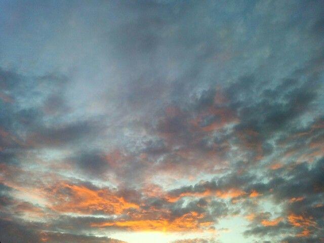 Sonnenuntergang in Zweibrücken