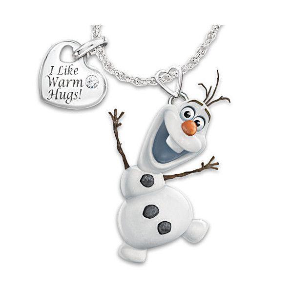 Disney frozen in motion diamond pendant necklace featuring olaf disney frozen in motion diamond pendant necklace featuring olaf the 99 aloadofball Gallery