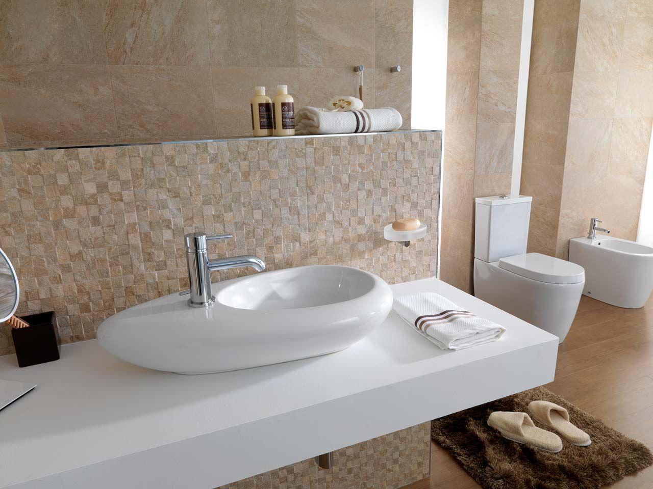 Lavabo flame de noken lavabos washbasin pinterest - Porcelanosa banos pequenos ...