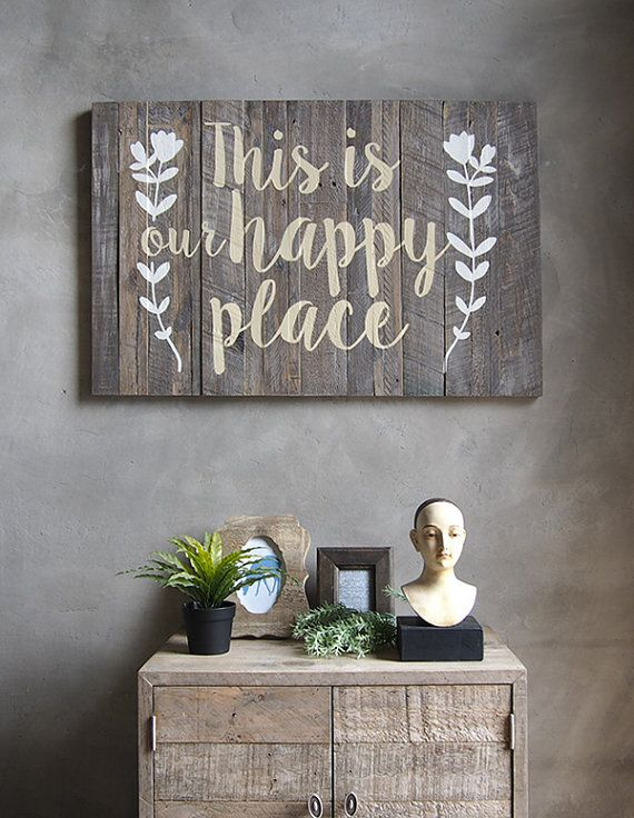 Wooden Decorative Signs Unique Wall Decor Wood Sign Stencil Hand Paint Word This Isathomebkk Review
