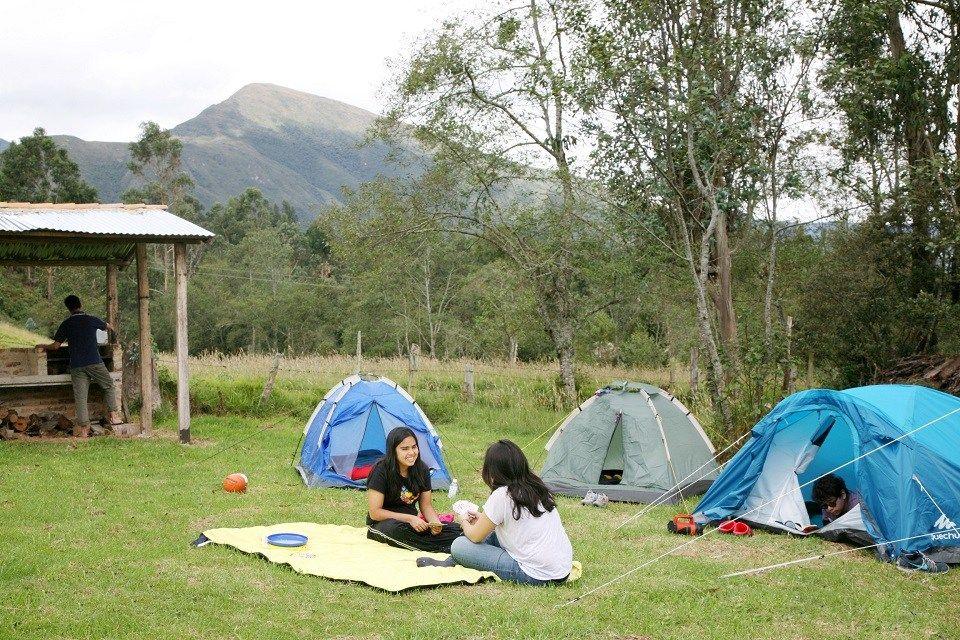 Lugares para acampar en colombia