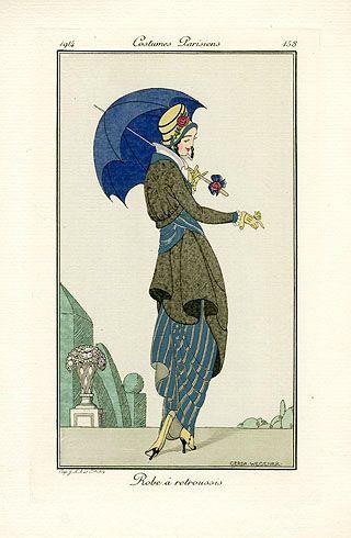 Robe a retroussis  by Gerda Wegener