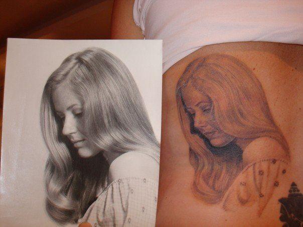 Six Feet Under Tattoo: Tattoo Of My Mom Done By Corey Miller, Six Feet Under