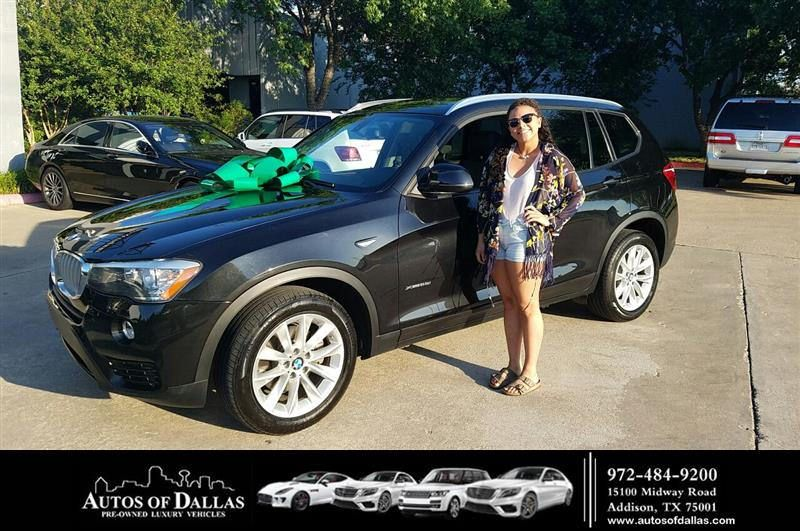 Congratulations Shmeil On Your Bmw X3 From George Ondarza At Autos Of Dallas Customer Review Auto Welcome To The Family