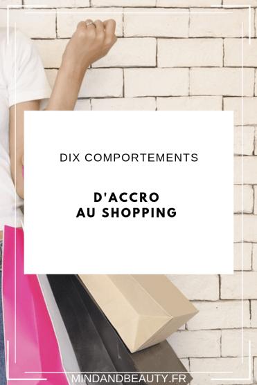 Mindandbeauty - 10 comportements d'accro au shopping #shopping #shoppingaddict #fashion