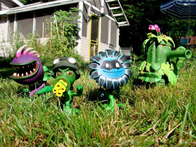 The Plants Vs. Zombies: Garden Warfare Action Figures Are Coming