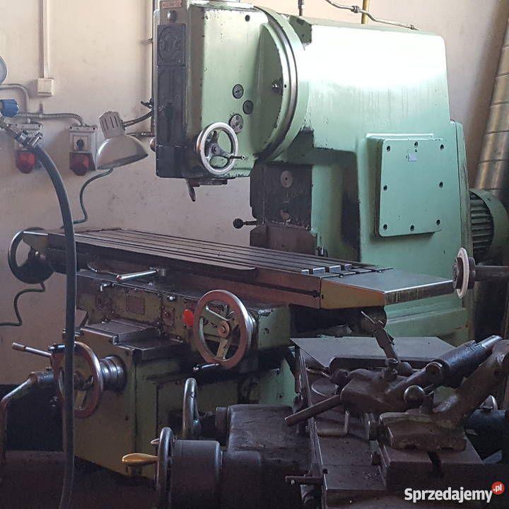Frezarka Pionowa 6p125 Do Metalu Produkcja Konskie Kitchen Appliances Coffee Maker Espresso Machine