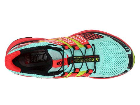 38094add178b Salomon XR Mission W Celedon Papaya Pop Green - Zappos.com Free Shipping  BOTH Ways