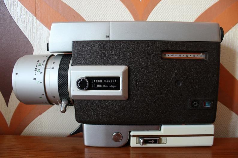 Canon Auto Zoom 318 Retro Vintage Super 8 Kodak 8mm Movie
