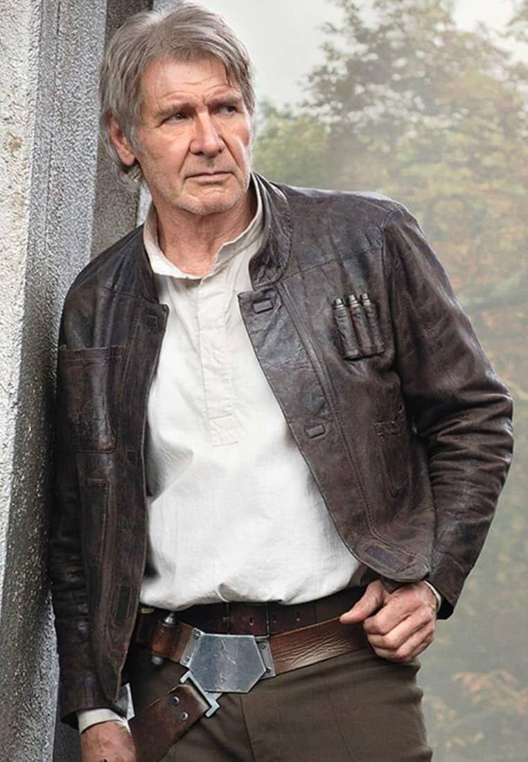 Han Solo Star Wars The Force Awakens Jacket Han Solo Jacket Star Wars Jacket Harrison Ford Han Solo [ 1100 x 762 Pixel ]