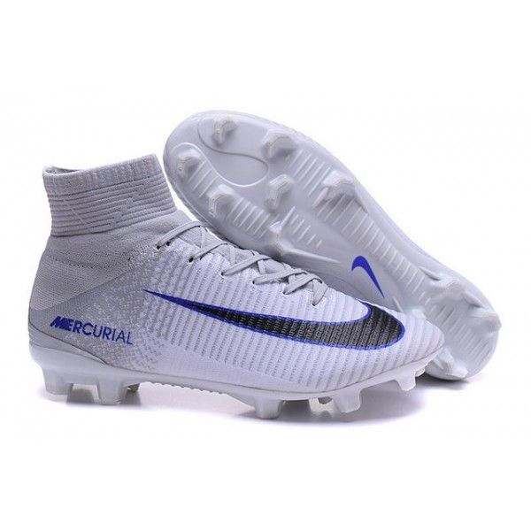 4c881cec304 Top Nike Mercurial Superfly 5 FG ACC Football Boots White Black ...