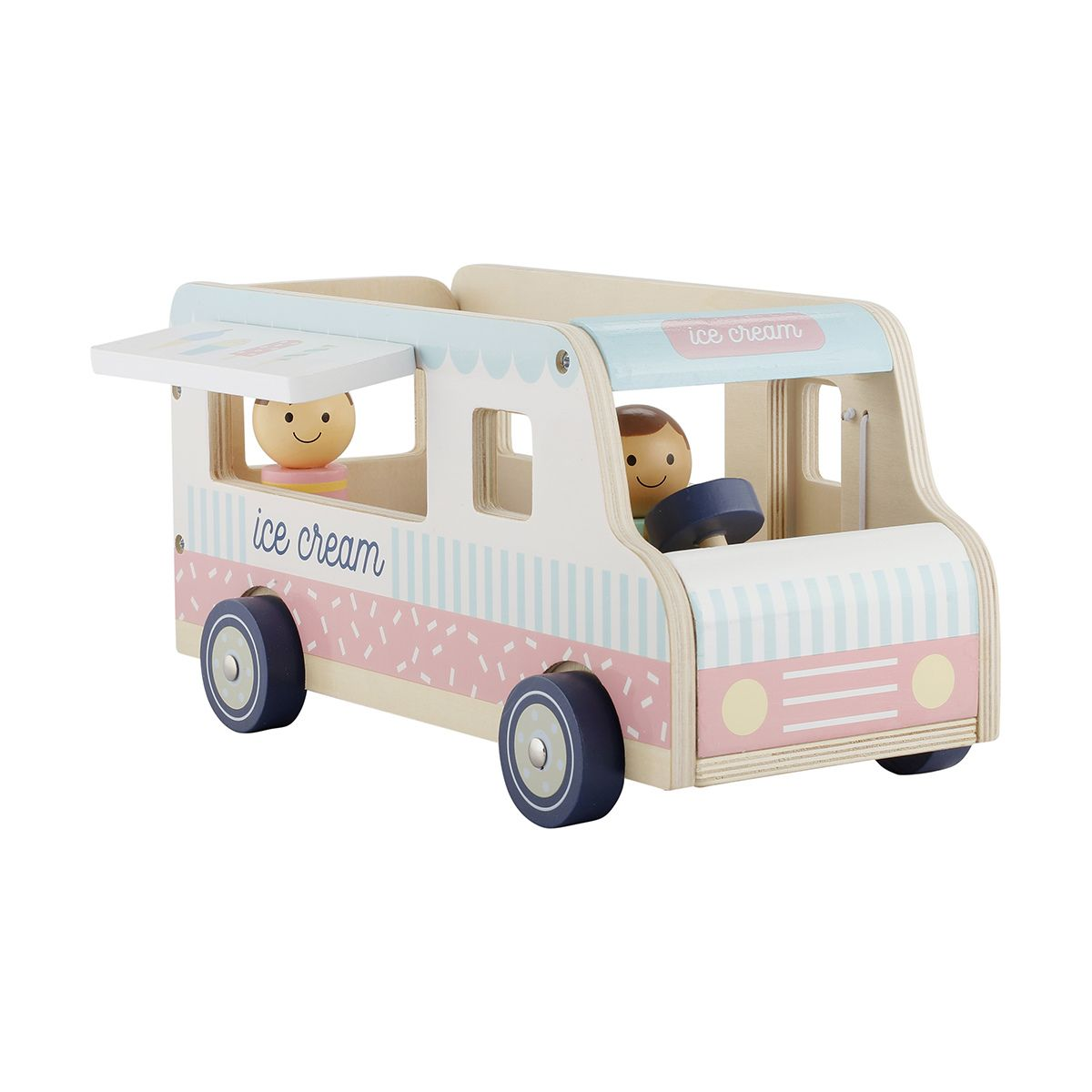 wooden ice cream truck toy | wooden toys | toy trucks, toys