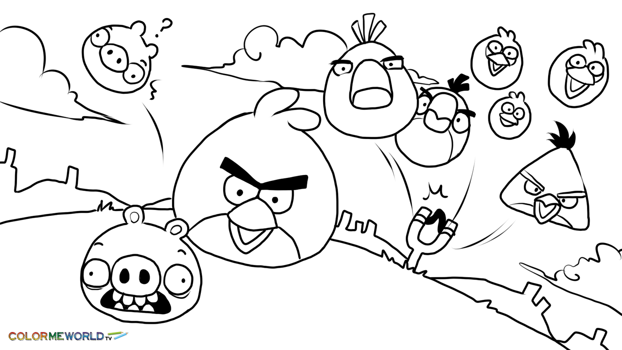 Angry Birds Coloring Pages Bird Coloring Pages Valentines Day Coloring Page Coloring Pages [ 720 x 1280 Pixel ]
