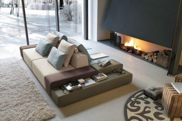 Design e praticità per il divano