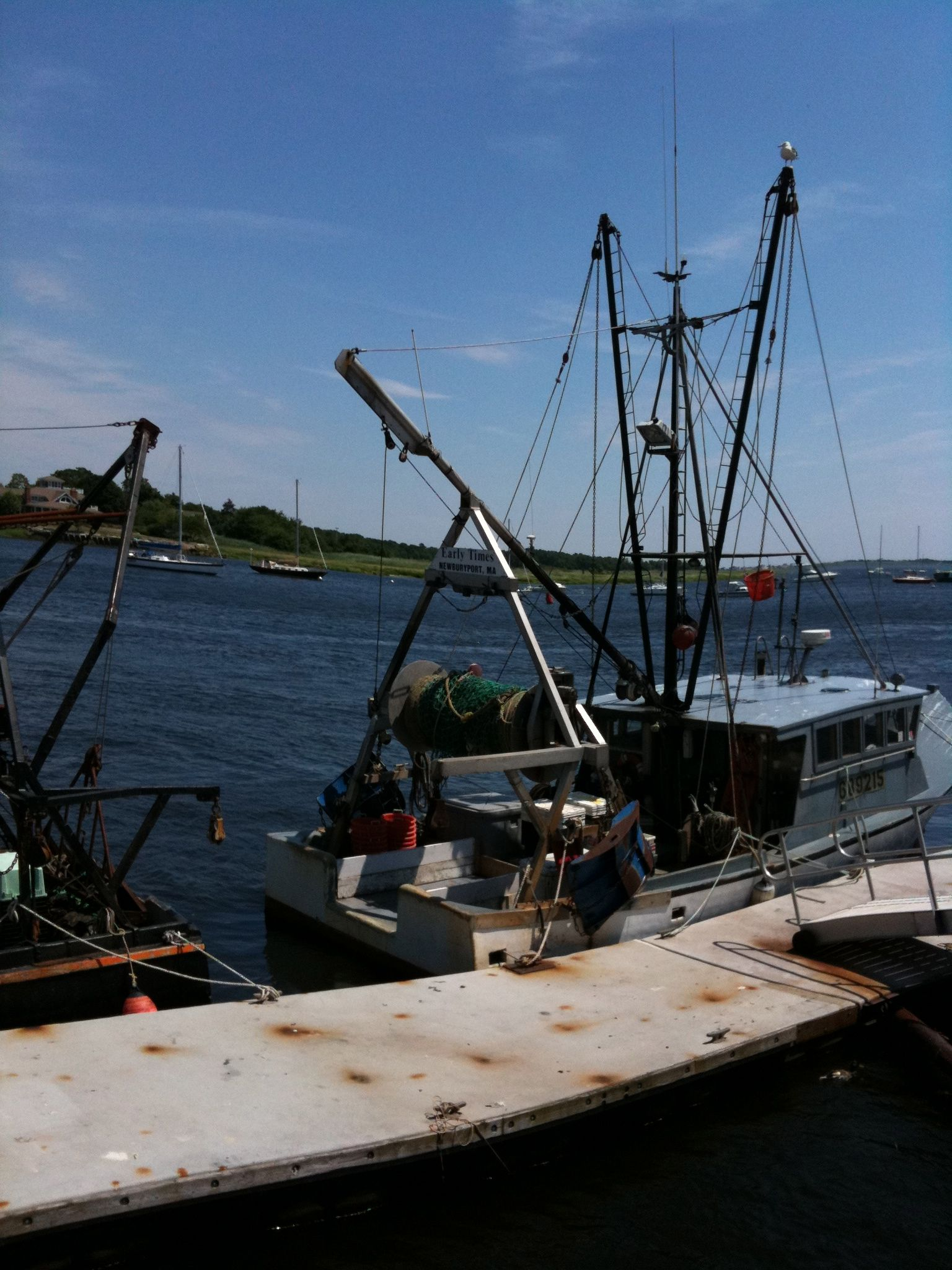 Working Dragger Newburyport And The Merrimack River Pinterest