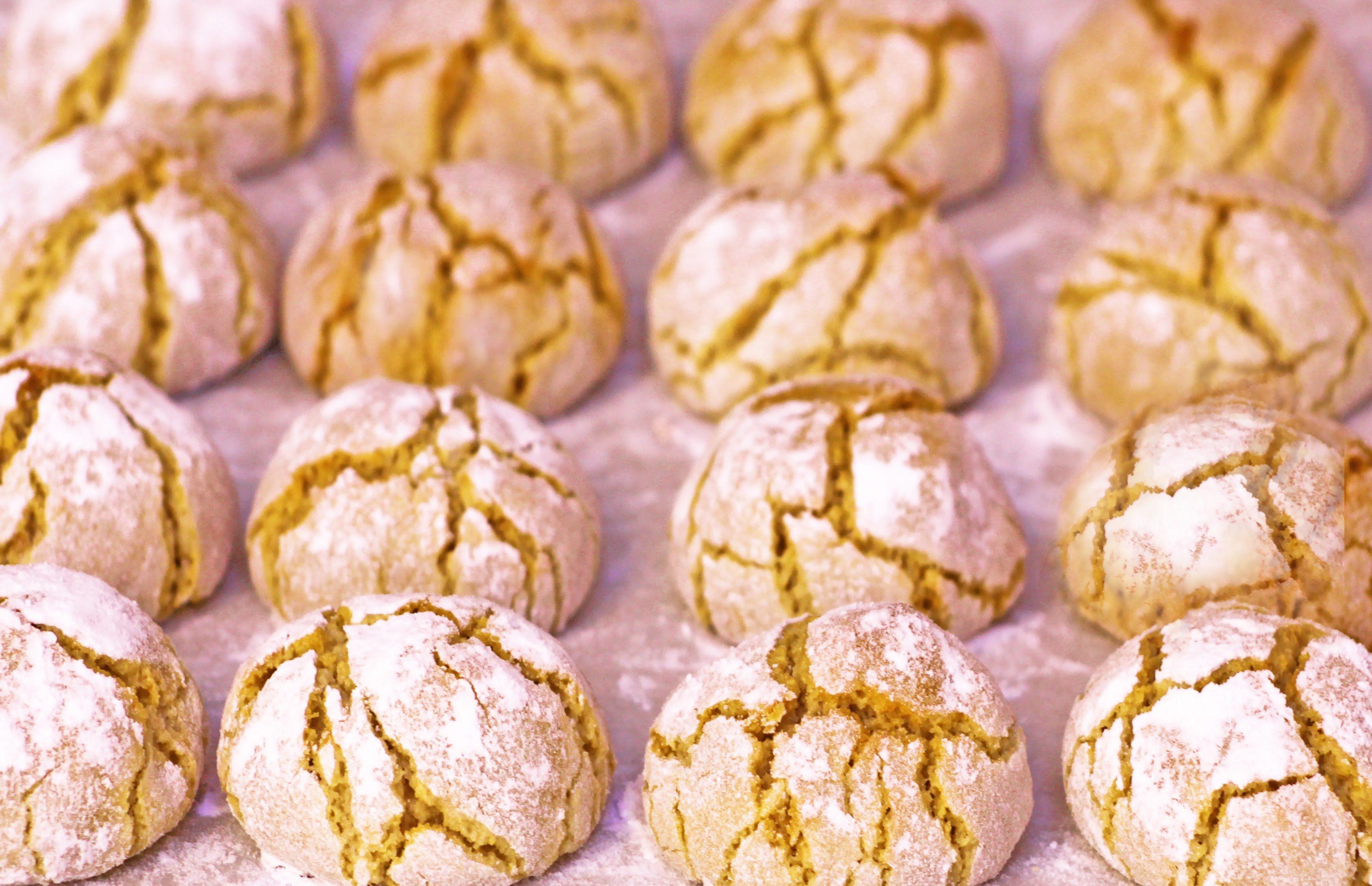 Biscotti Di Natale Quel Che Passa Il Convento.Amaretti Morbidi Alle Mandorle Ricetta Originale Chef Edoardo