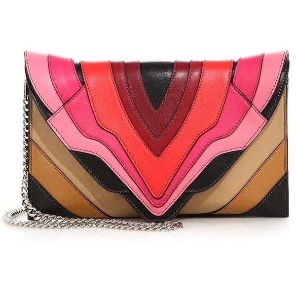 dbc350c7df Elena Ghisellini Selina Mignon Multicolor Crossbody Bag (€765) ❤ liked on  Polyvore featuring