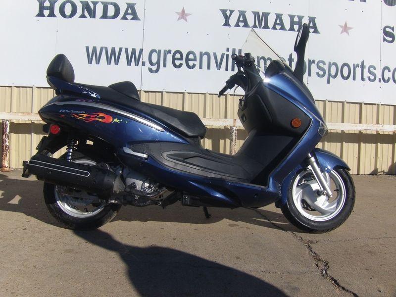 2009 SYM RV 250 Stock CM780B Greenville Motor Sports