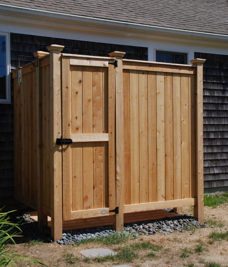 Cedar Outdoor Shower The 83 Xl House Mount Outdoor