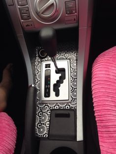 Diy car interior my first and  wanted to personalize it also rh ar pinterest