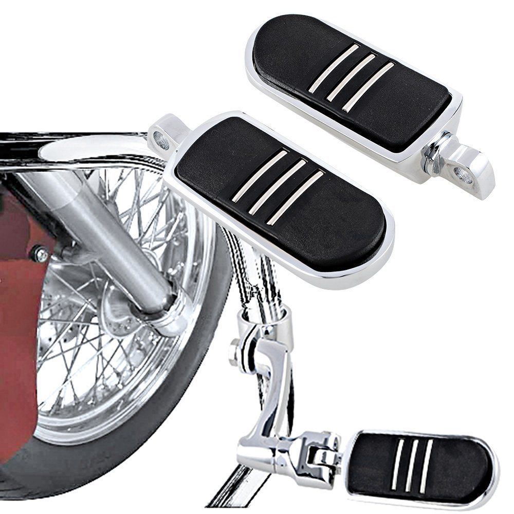 Chrome StreamLiner Foot Pegs Footrest For Harley Electra Street Glide Road King