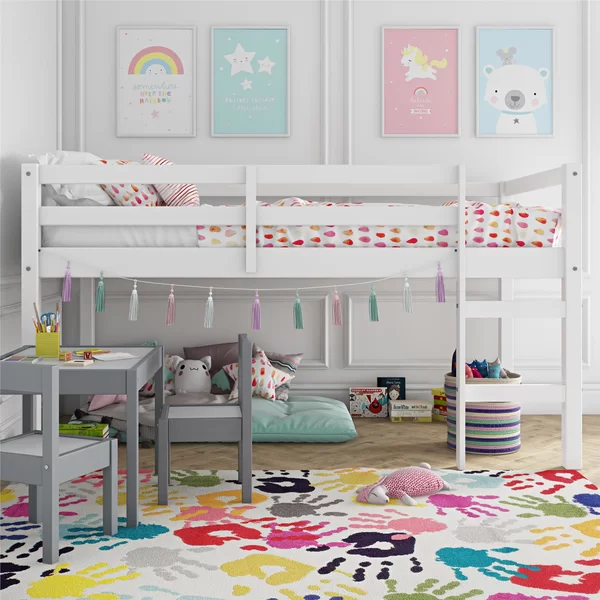 Schlemmer Junior Twin Loft Bed With Images Kids Loft Beds