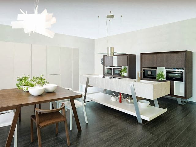 Hub of the home kitchen trend rings functional furniture also olemeurporcelanosa on pinterest rh