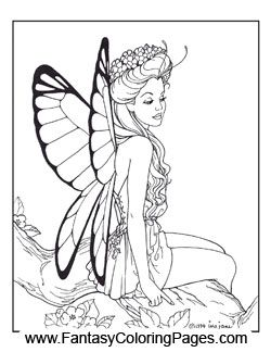 Check Out These Beautiful Fairy Coloring Pages With This Package You Get 16 Of The Most Detailed Creative Quality Ever Created