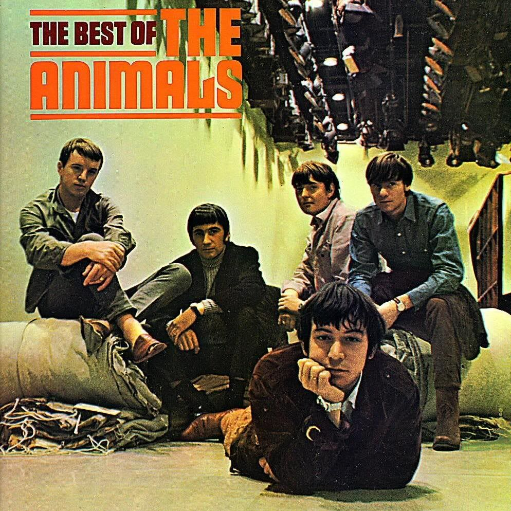 The Animals House of the rising sun, Rock album covers