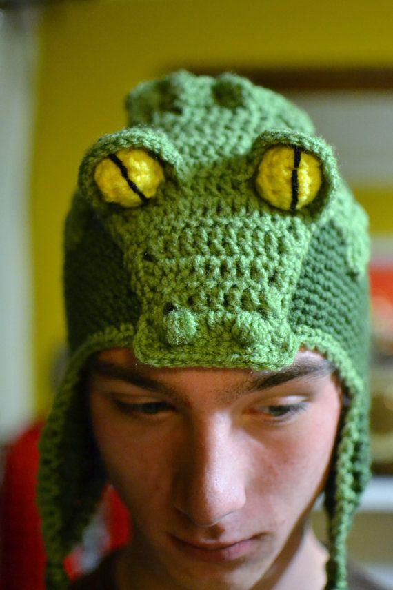 Crochet Alligator Hat by aStitchSouth on Etsy, $42.00 | Design ...