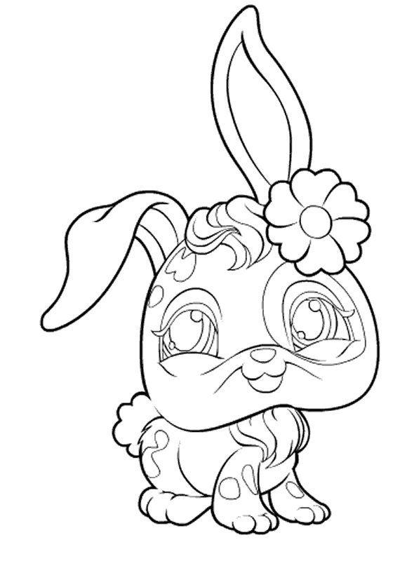 Littlest Pet Shop Zoe Coloring Pages | coloring page ...