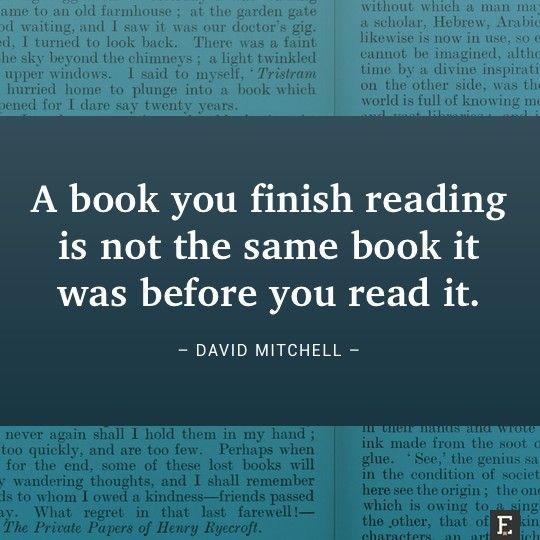 David Mitchell is right!