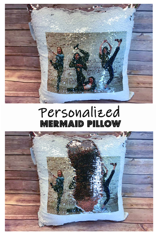 Sequin Pillow Printing with Sublimation | Sublimation | Sequin