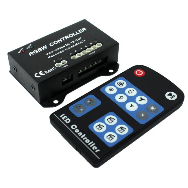 RGBW 4 channel LED controller 4-Channel 4A/Ch DC-12V-24V