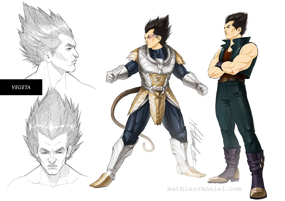 Dbz vegeta by mathiaarkoniel on deviantart dragon ball - Dbz fantasy anime ...