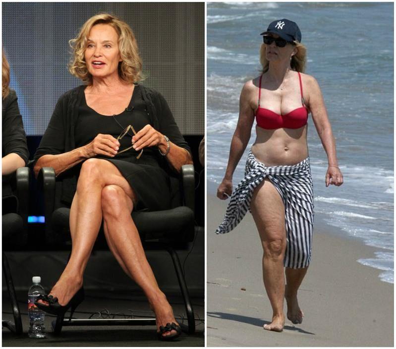 Jessica Lange's body measurements