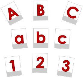 buchstabenkarten ausdrucken lesen und schreiben lernen | koulu