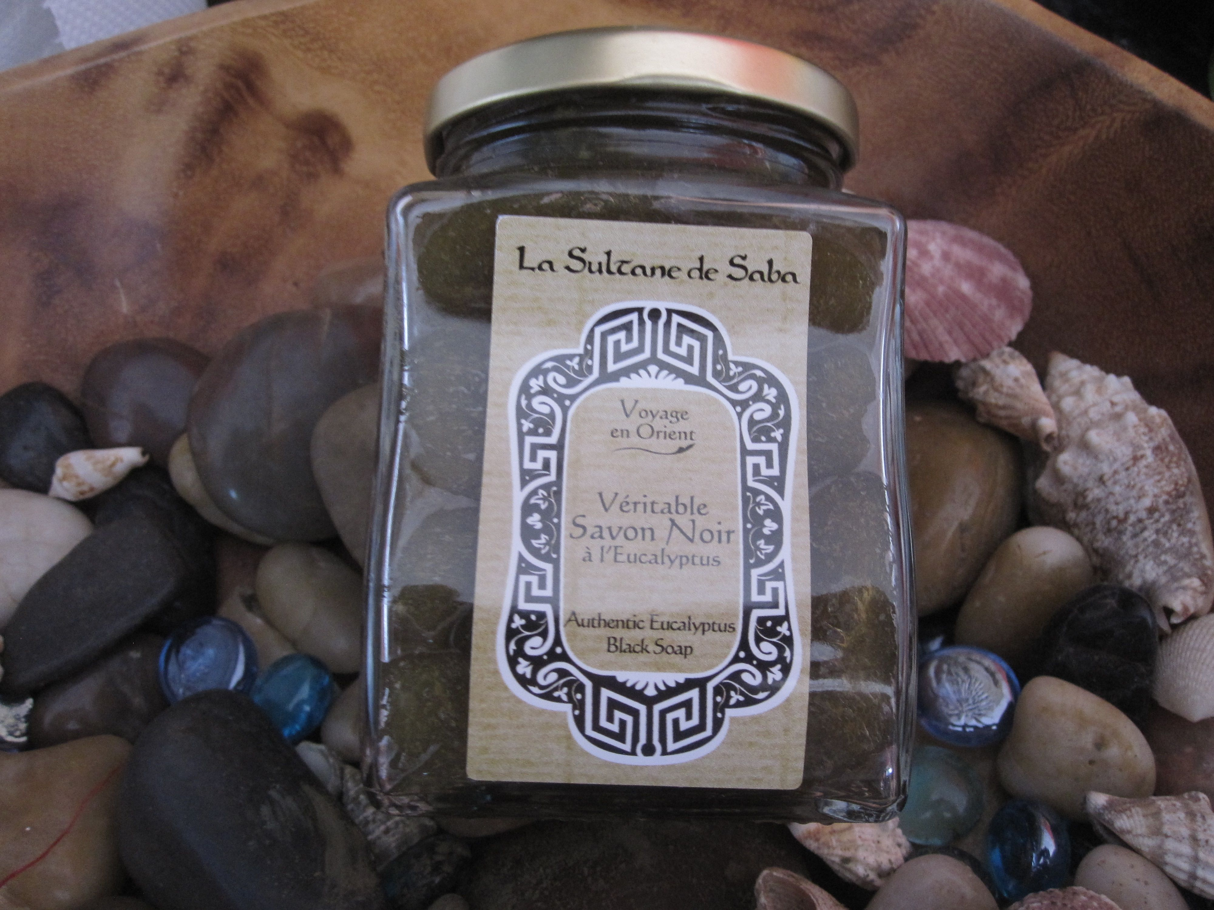 Black Soap With Eucalyptus From La Sultane De Saba A Gorgeous Non Drying Soap That Cleanses Deeply To Nourish And Soften H Black Soap Soap Organic Skin Care